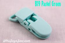 B19 KAM plastic resin dummy clips 2cm Who Says Sew