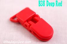 B38 KAM plastic resin dummy clips 2cm Who Says Sew