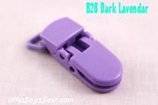 B28 KAM plastic resin dummy clips 2cm Who Says Sew