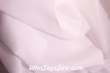 VILENE Iron-On Lightweight Soft Woven Cotton Interfacing in White
