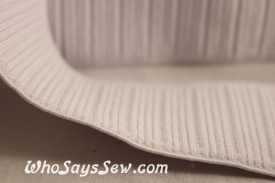 Non-Roll Ribbed Belting Elastic 5cm Wide.