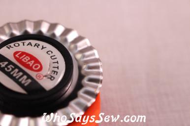 45mm Wavy Rotary Cutter Blade