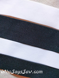 "High Quality Super Soft Nylon Waistband Elastic. 2.5cm (1"") or 4cm (1.5"")"