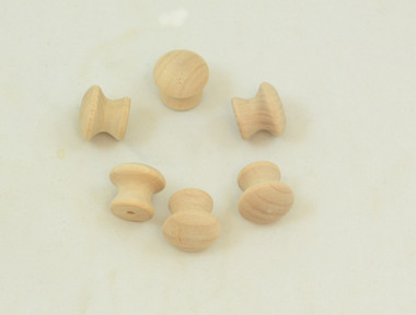 "3/4"" Hardwood Drawer Pulls sold in packages of 10."