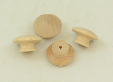 """1.75"""" Hardwood Drawer Pull, sold in packages of 10."""