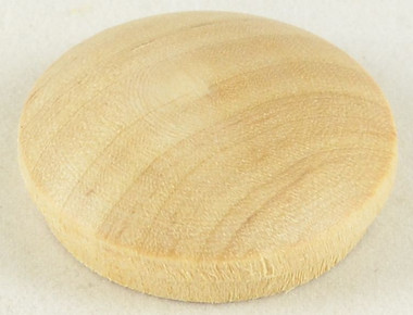 3/4 in. Birch Wood Mushroom Button