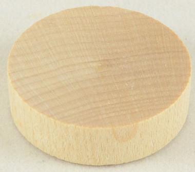 3/8 in. Flat-Head Plug Birch
