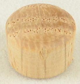 3/8 inch Round-Head Plug in Oak