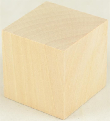 Wooden Cubes 3/4 in. Hardwood