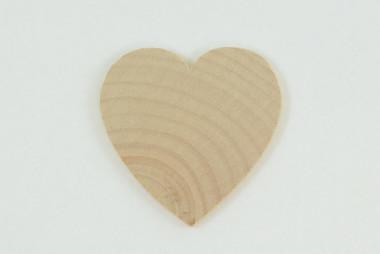 "1.5"" x 1.5"" x  .125"" Hardwood Heart"