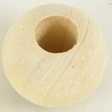 1-1/4 Inch Bead with 1/2 inch hole