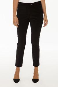 New Stanton Slim Pant in Black Stretch Corduroy
