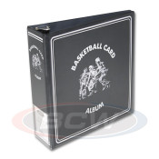 "BCW 3"" Album - Basketball Card Album -Black"