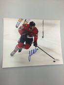 JOAKIM NORDSTROM - Chicago Blackhawks - Autographed 8x10 (Chasing Puck)