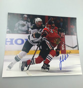 JOAKIM NORDSTROM - Chicago Blackhawks - Autographed 8x10 (With Opposing Player)