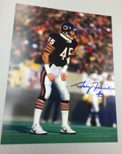 GARY FENCIK - Chicago Bears - AUTOGRAPHED 8x10 (Standing Facing Right)