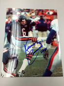 KEVIN BUTLER - Chicago Bears - AUTOGRAPHED 8x10 (Kicking / Blue Jersey)