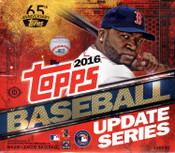 2016 Topps Update Series Baseball Jumbo Box