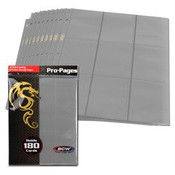 BCW Gaming Side Loading 18 Pocket Pro Pages