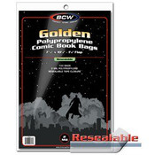 BCW Resealable Golden Comic Bags