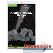 BCW Resealable Bag For Graded Comics