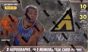 2013/14 Panini Pinnacle Jumbo Basketball Hobby Box