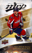 2017/18 Upper Deck MVP Hockey Hobby Box  (For Pricing text: UDPRICING to 630-664-6580)