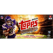 2013 Topps Football Complete Factory Set