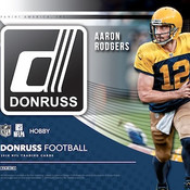 2018 Panini Donruss Football Hobby Box