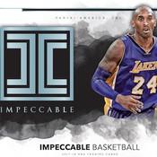2017/18 Panini Impeccable Basketball 3 Box Case
