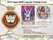 2018 Topps Legends Of The WWE Wrestling Hobby Box