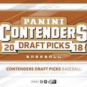2018 Panini Contenders Draft Picks Baseball Hobby Box