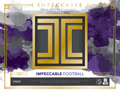 2018 Panini Impeccable Football Hobby Box