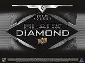 2018/19 Upper Deck Black Diamond Hockey Hobby Box (For Pricing Text: 630-664-6580)