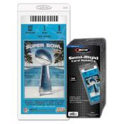 BCW Semi Rigid #5 (3 1/2 x 7 3/4) - 20 Pack Case