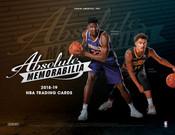 2018/19 Panini Absolute Memorabilia Basketball Hobby 10 Box Case
