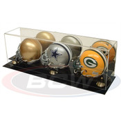 BCW Triple Acrylic Mini Helmet Display - With Mirror AD02-03