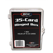 BCW Hinged Trading Card Box - 35 Count