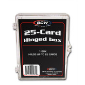 BCW Hinged Trading Card Box - 25 Count 100 Pack Case