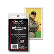 BCW Tobacco Card Sleeves 100/100ct Case