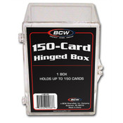 BCW Hinged Trading Card Box - 150 Count Case of 45