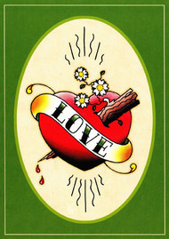 Angelique Houtkamp Greeting Card - Love