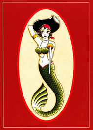 Angelique Houtkamp Greeting Card -  Mermaid