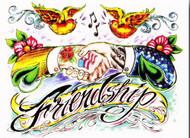 Dave Bobrick Greeting Card - Friendship