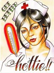 Tex Greeting Card - Get Better Hottie!!