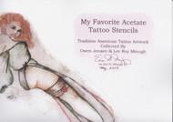 My Favorite Acetate Tattoo Stencils, Vol I