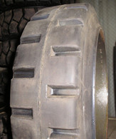 22X6X16 tires Super Solid forklift press-on traction tire 22/6/16 USA Made 22616