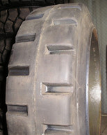18X9X12-1/8 tires Super Solid forklift press-on traction tire USA Made 18912