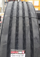 (4-Tires) 295/75R22.5 General HS Front Steer 16 PR truck tire USA 29575225