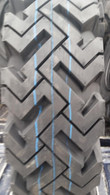 4- Tires and Wheels skid-steer 12PR snow tire 7.50-16 mounted and ready 75016